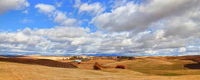 Photograph - A Palouse Panorama by David Patterson