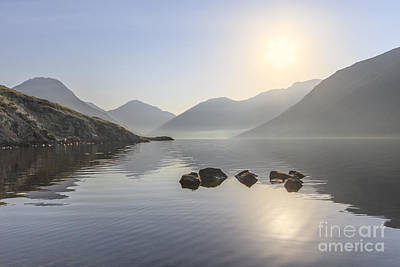 Reflective Photograph - A Place Called Morning by Evelina Kremsdorf