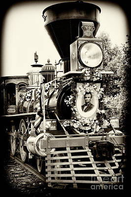 Photograph - A President's Funeral Train - 3378-b by Paul W Faust - Impressions of Light