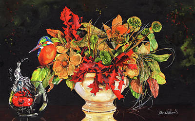Painting - A Splash Of Colour by Peter Williams