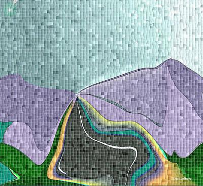 Digital Art - A Storm Is Coming by Iris Gelbart