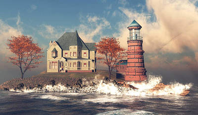 A Storm Is Coming Original by John Junek