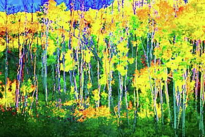Painting - A Touch Of Fall by David Lee Thompson