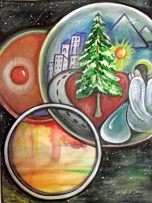 Painting - A Universal Need by Linda Nielsen