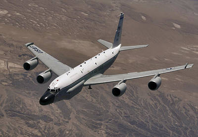 Photograph - A U.s. Air Force Rc-135 Rivet Joint by Stocktrek Images