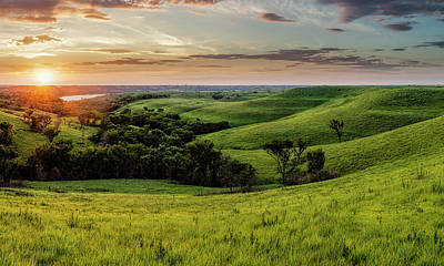 Photograph - A View From A Favorite Spot 30x18 by Scott Bean