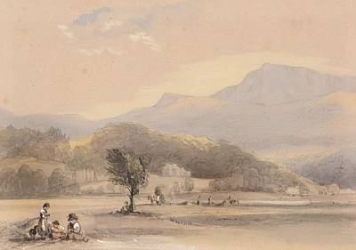 Bryant Painting - A View From Our Window At Tyn Y Cellyn by George Bryant