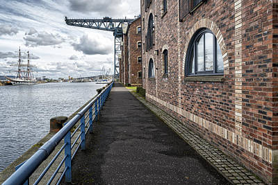 Photograph - A Walk Around Town In Greenock, Scotland by Jeremy Lavender Photography