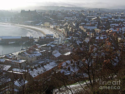 Photograph - A Winter's Day At Scarborough by Phil Banks