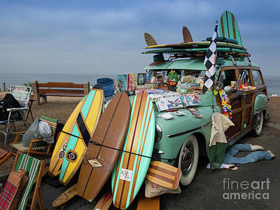 Photograph - A Woodie And Its Tchotchke by David Levin