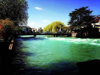 Photograph - Aare River by Mimulux patricia no No