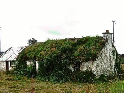 Photograph - Abandoned Cottage by Stephanie Moore
