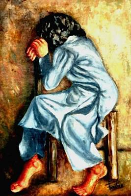 Painting - Abandoned  by Fareeha Khawaja