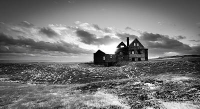 Photograph - Abandoned Farm On The Snaefellsnes Peninsula by Alex Blondeau
