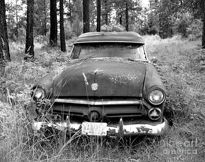 Photograph - Abandoned Ford by Denise Bruchman