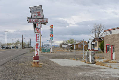 Tonopah Photograph - Abandoned Gas Station by Christian Heeb