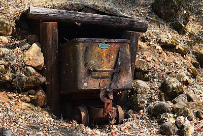 Abandoned Gold Mine Art Print