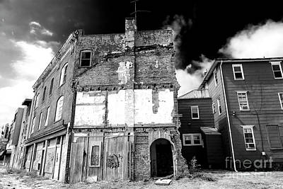 Photograph - Abandoned In Asbury Park by John Rizzuto