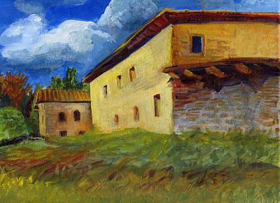 Painting - Abandoned by Karen Apostolico