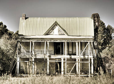 Abandoned Plantation House #1 Art Print by Andrew Crispi