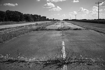 Photograph - Abandoned Route 66 by Frank Romeo