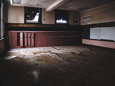 Photograph - Abandoned School by Dylan Murphy