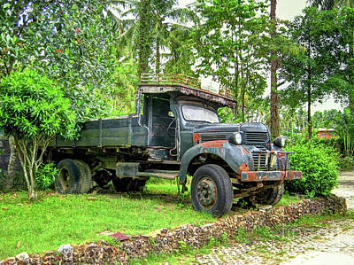 Photograph -  Abandoned Truck by Michelle Meenawong