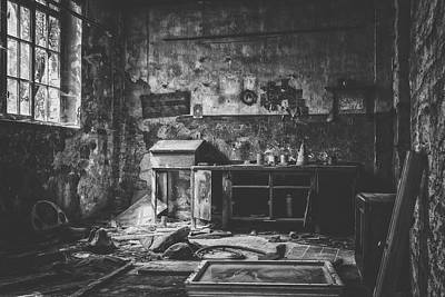 Photograph - Abandoned Workshop by Pixabay