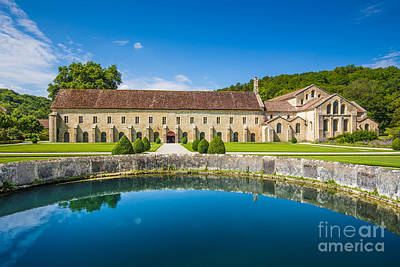 Photograph - Abbey Of Fontenay by JR Photography