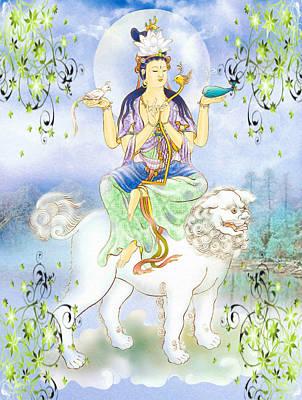 Abhetri Kuan Yin Art Print