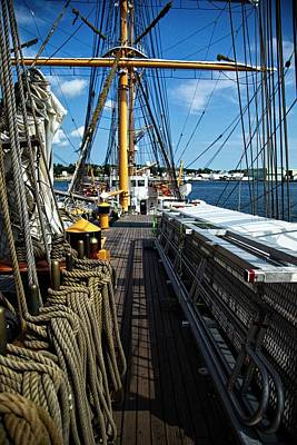 Photograph - Aboard The Eagle by Karol Livote