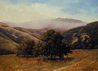 Painting - Above Steinbeck Country by Marv Anderson