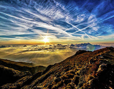 Digital Art - Above The Clouds by Michael Damiani