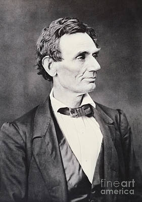 Abraham Lincoln Art Print by Alexander Hesler