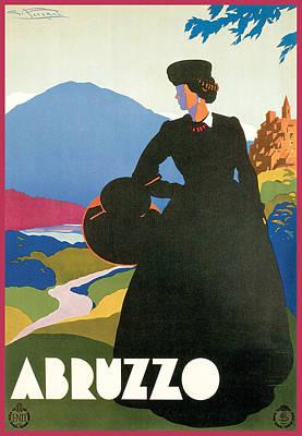 Painting - Abruzzo by Giulio Ferrari