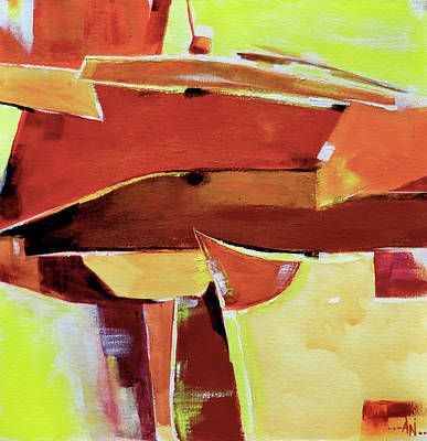 Painting - Abstract 11 by Anil Nene