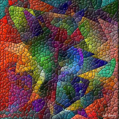 Digital Art - Abstract #28 by Iris Gelbart