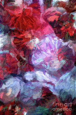 Digital Art - Abstract 84 Digital Oil Painting On Canvas Full Of Texture And Brig by Amy Cicconi