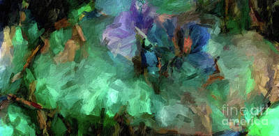 Digital Art - Abstract 88 Digital Oil Painting On Canvas Full Of Texture And Brig by Amy Cicconi