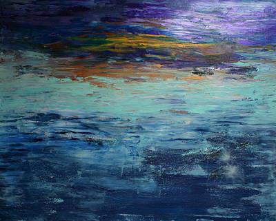 Painting - Abstract Blue by Alma Yamazaki