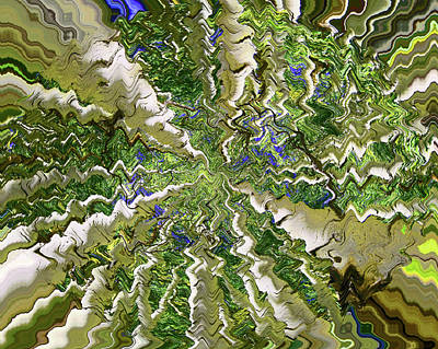 Digital Art - Abstract By Photoshop  3 by Allen Beatty