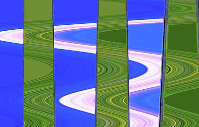 Digital Art - Abstract By Photoshop 34 by Allen Beatty