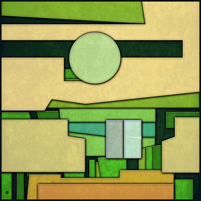 Digital Art - Abstract Cubist by Gary Grayson