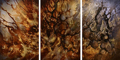 Abstract Design 56 Original by Michael Lang