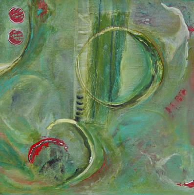 Wall Art - Painting - Abstract by Evelyn Niehaus