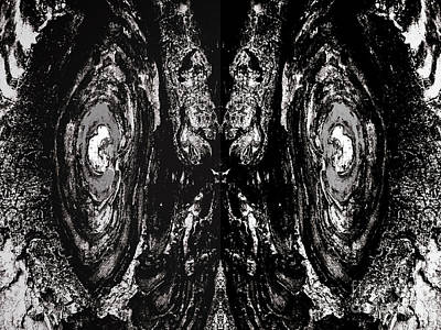 Photograph - Abstract Eyes by Steven Parker