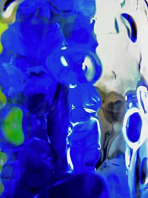 Photograph - Abstract In Blue by Stephanie Moore