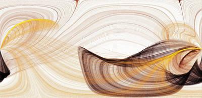 Abstract Seascape Mixed Media - Abstract - Lakshmi Yei by Sir Josef - Social Critic -  Maha Art