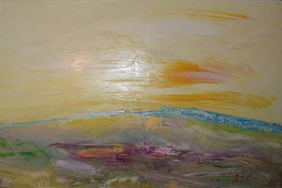 Painting - Abstract Landscape by Bennu Bennu