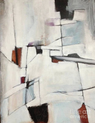 Painting - Abstract Lines by Patricia Cleasby